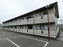 栃木県宇都宮市竹下町の賃貸アパートの外観