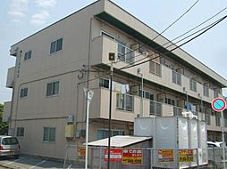 ヤマサイコーポ11号棟[1階]の外観