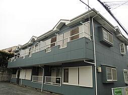 千葉県流山市向小金3丁目の賃貸アパートの外観