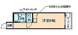 コンフォート豊中リバーサイドⅡ[1階]の間取り