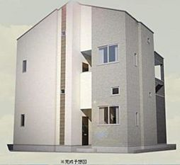 ハーモニーテラス武蔵中原[2階]の外観