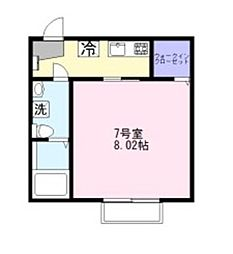 CAREL新鎌ヶ谷[1階]の間取り