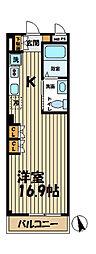 トキワビル[3階]の間取り