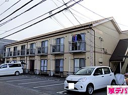 愛知県岡崎市八帖北町の賃貸アパートの外観