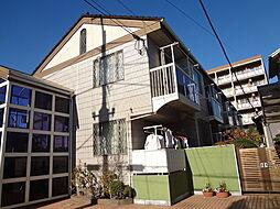 千葉県市川市真間1丁目の賃貸アパートの外観