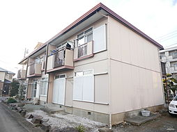 神奈川県厚木市妻田南2丁目の賃貸アパートの外観