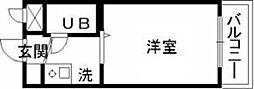 ジョイフル中野五番館[1階]の間取り