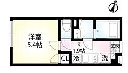 (仮称)練馬区田柄4丁目 3階1Kの間取り