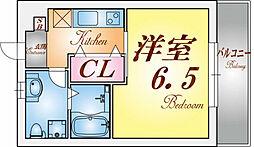 パロス須磨戸政町[3階]の間取り