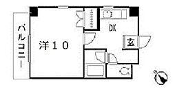 TSハイツ[4階]の間取り