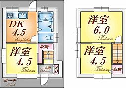 [一戸建] 兵庫県神戸市垂水区西舞子2丁目 の賃貸【/】の間取り