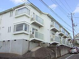 神奈川県川崎市高津区梶ケ谷3丁目の賃貸アパートの外観