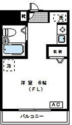 神奈川県川崎市中原区上小田中3の賃貸マンションの間取り