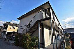 大阪府羽曳野市伊賀6の賃貸アパートの外観