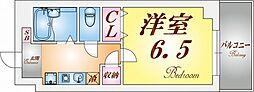 グランドーレ東須磨[4階]の間取り