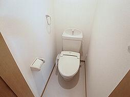 カーサ大塚のウォシュレット標準装備のトイレ