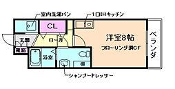 ハイマウンド[2階]の間取り