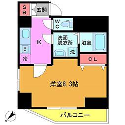 東京都江戸川区中葛西2丁目の賃貸マンションの間取り