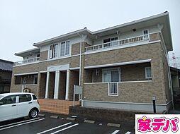 愛知県みよし市福谷町根浦の賃貸アパートの外観