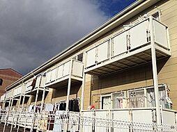 愛知県岡崎市土井町字西番城の賃貸アパートの外観