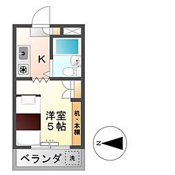 第3エコーマンション[2階]の間取り