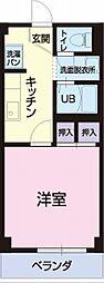 愛知県蒲郡市三谷町の賃貸アパートの間取り