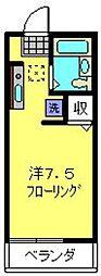 ベルグリーン36B[102号室]の間取り