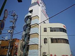 徳島県徳島市中洲町1丁目の賃貸マンションの外観