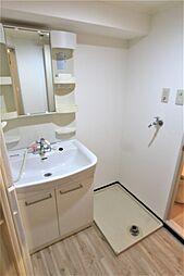 ドムール板宿の洗面所