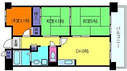 プロスペリテ神戸[3階]の間取り
