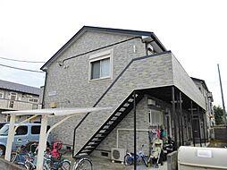 神奈川県大和市南林間8丁目の賃貸アパートの外観