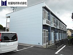 愛知県豊橋市前芝町字東の賃貸アパートの外観