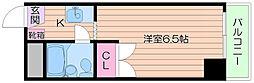 シャルム都島[4階]の間取り