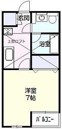 リヴェールIII[2階]の間取り