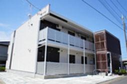 千葉県我孫子市白山1丁目の賃貸アパートの外観