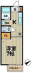 インプレス鎌倉II[106号室]の間取り