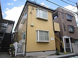 神奈川県横浜市保土ケ谷区神戸町の賃貸アパートの外観