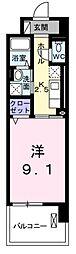 埼玉県八潮市大字南川崎の賃貸マンションの間取り