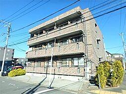東京都多摩市関戸2丁目の賃貸アパートの外観