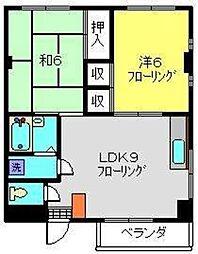 第一青木ビル[3階]の間取り
