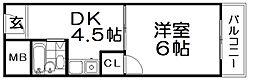 カーサ船橋[2階]の間取り