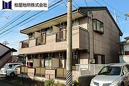 愛知県豊橋市飯村町字北池上の賃貸アパートの外観