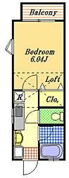 リーフコート2[1階]の間取り