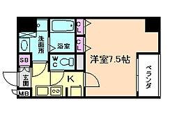 レジディア江戸堀[6階]の間取り
