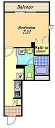 トレース[3階]の間取り