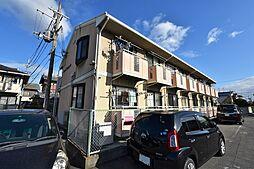 大阪府松原市上田2丁目の賃貸アパートの外観