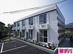 愛知県蒲郡市豊岡町満土呂の賃貸アパートの外観