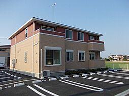 茨城県筑西市成田の賃貸アパートの外観
