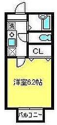 メゾンベール[2階]の間取り