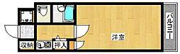 ジュパ−ル別府[207号室]の間取り